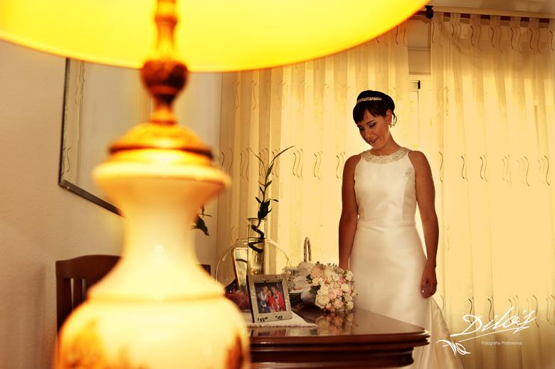 109 novia mira ramo de flores