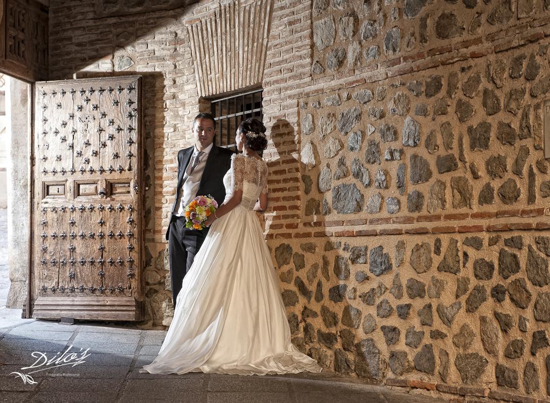 377 fotografía de boda en el pasadizo de Balaguer en toledo