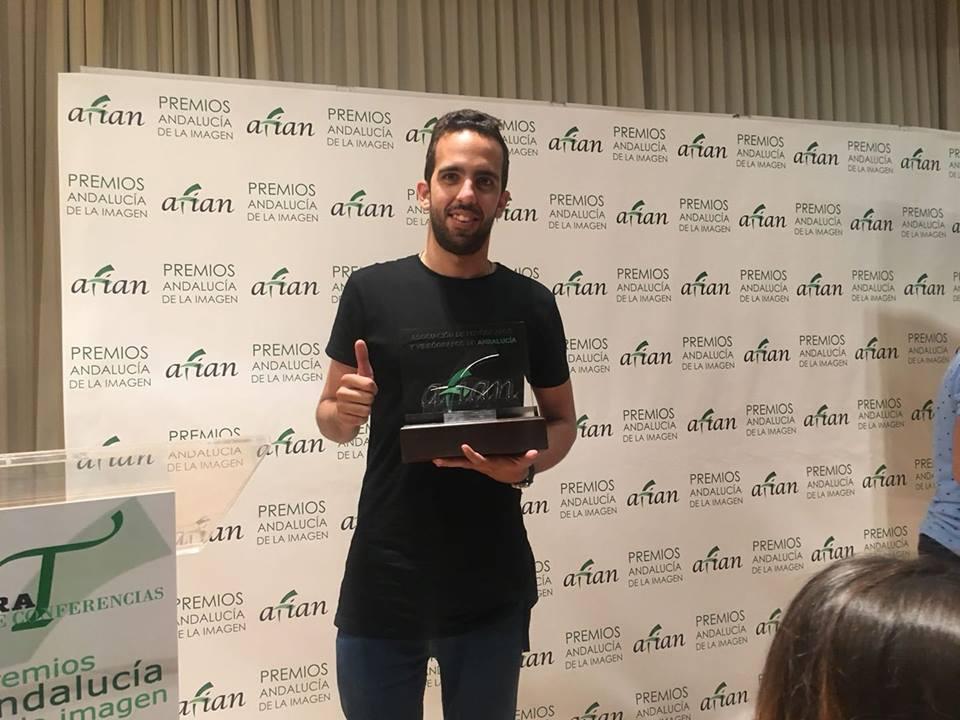 Santiago Manzaneque gana el Premio Andalucía de la Imagen