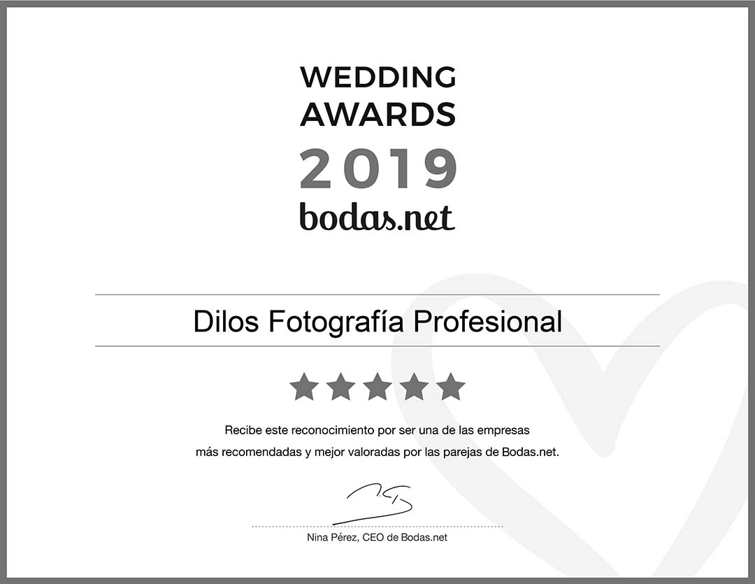 WEDDING AWARDS 2019 by Bodas.net