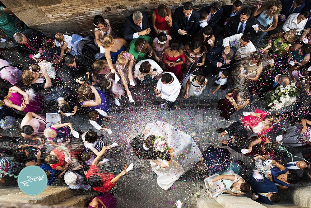 fotografía de bodas natural y sin posados